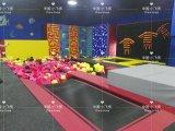 Neue Entwurfs-Kind-Spiel-Bereichs-Kind-Innentrampoline-Park mit freien Ersatzsprüngen