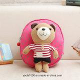 Bolso de escuela caliente del bebé del oso de la felpa de la venta