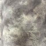 Impressão em nuvem PU sintético para sacos de calçado de couro Hx-S1726