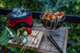 Решетка барбекю угля миниая с охладителем и Carrybag совершенное для располагаться лагерем и Tailgating Moskus Шестерней Esg10166