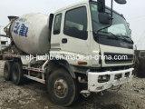 De gebruikte Isuzu Vrachtwagen van de Concrete Mixer van de Dieselmotor 6*4-LHD 10~20ton Japanse /Used Fuso Hino Nissan