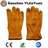 Водители безопасности кожаный работая перчатки