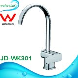 Jd-Wk308 Square Design Giratório cromado de latão para mistura de cozinha equipada