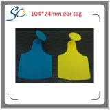 El tamaño grande Tag Ganado Número láser suave del oído