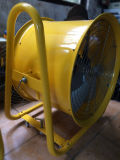 Ventilador de ventilação industrial com rodas