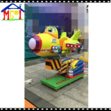 Fibre de verre Kiddie Ride Slot Game Machine Cute Plane