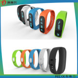 Custom Charm Fitness / Sport Bangle Silicone / Silicone USB Watch Bluetooth Smart Bracelet