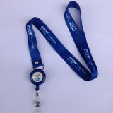 Plastic / Metal Retractable Custom ID Card Holder Badge Reels para Lanyards
