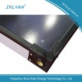 La plaque plate en chrome noir chauffe-eau solaire collectionneur