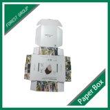 Heiße Verkaufs-gewölbtes Papier-Kleidungs-verpackenkasten