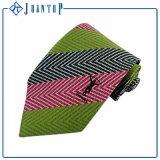 Cravate en soie colorée de sergé d'homme de soie de la mode 100%