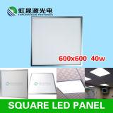 Dimmable 600X600mm 40W 세륨, RoHS를 가진 정연한 편평한 천장 LED 가벼운 위원회