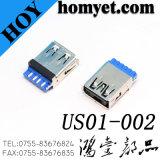 3.0 USB de Vrouwelijke Schakelaar van de Contactdoos USB met het Solderen van Type