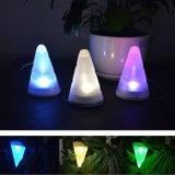 1개의 LED 태양 7개의 색깔 장식적인 펀던트 램프 천장 빛