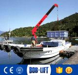 望遠鏡ブームの油圧ボートの持ち上がるクレーン