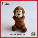 Giocattoli dell'animale domestico della scimmia della peluche per i cani ed i gatti