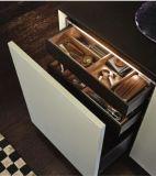 Brich Wooden Compact Lacquer Blue Kitchen Base Gabinete
