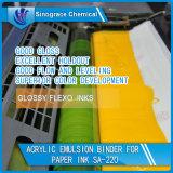 Carpeta de agua y emulsión de base acrílica para Papel Tinta