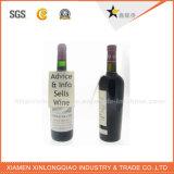 Carte de tête faite sur commande pour le collet de bouteille de vin avec votre logo