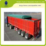 PVC는 트럭 덮개를 위한 방수포를 입혔다