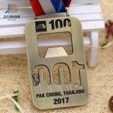 Sport su ordinazione vuoti del metallo di alta qualità che eseguono la medaglia in bianco di maratona