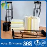 La jaula del filtro de polvo para apoyar bolsas filtrantes