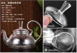 Большой чайник сопротивления жары емкости стеклянный с вливанием нержавеющей стали
