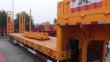 Chhgc Big-Gooseneck 30FT 3axle Skeleton / Skeletal Container Semi-Trailer