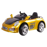 Passeio do brinquedo dos miúdos da energia eléctrica no carro com RC