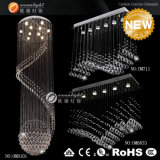 L'hôtel Crystal lustre d'éclairage résidentiel, lampe de plafond, Crystal Lumière au plafond (OM711)