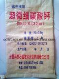 Bolso tejido papel para el producto químico, cemento, mineral, polvo del grafito, mortero