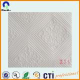 Película blanca grabada del PVC para la tarjeta del techo del yeso
