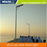 40W 50W 60W tous dans une rue lumière solaire avec panneau solaire Sunpower