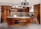 2017新しいデザイン工場直接標準的な純木の食器棚