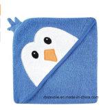 Surtidor calificado Manufactorer de la toalla encapuchada del algodón para el bebé