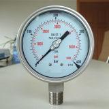100mm pleine manomètre de haute qualité en acier inoxydable