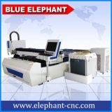 grosser Metallblatt CNC Laser-Scherblock der Energien-1200W, Faser-Laser-Ausschnitt-Maschine für Aluminium, Stahl, Metallplatten