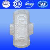 garnitures ultra minces de serviettes hygiéniques d'anion de normale de 245mm avec des ailes