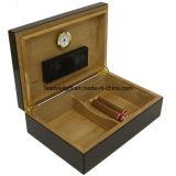 50-70 Tabak Ingelegde Burlwood van de Doos van Humidor van de sigaar eindigt de Verpakkende
