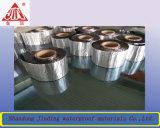 Membrana impermeable auta-adhesivo de la cinta que contellea con el papel de aluminio