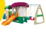 Trasparenza di plastica Playsets (M11-09201) dei capretti del campo da giuoco di combinazione