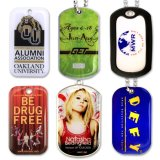 La sublimation imprimé Dog Tag couché