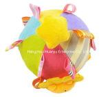 赤ん坊プラシ天によって詰められるMuti機能ラッセル音の球