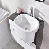 Module en plastique de vanité de salle de bains simple de mur avec le Module latéral