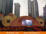 Pantalla del panel del acontecimiento LED del fondo de etapa/video de visualización de alquiler al aire libre/muestra/pared/cartelera de interior