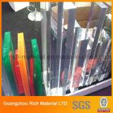 Strato acrilico libero del plexiglass per l'acquario/a strati lo strato trasparente di PMMA per il serbatoio di pesci