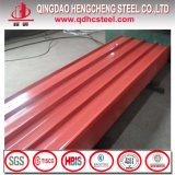 Лист Gi Pre покрашенный PPGI Corrugated стальной для толя