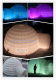 Outdoor Igloo dôme gonflable tente d'exposition