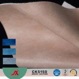 2017 Новая конструкция ПВХ искусственная кожа с Yangbuck дизайн для дамской сумочке использования