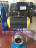 Segmento de CF8 Válvula de bola para la industria de tratamiento de agua